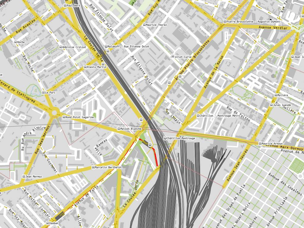 Usine clacquesin malakoff - H m avenue de france ...
