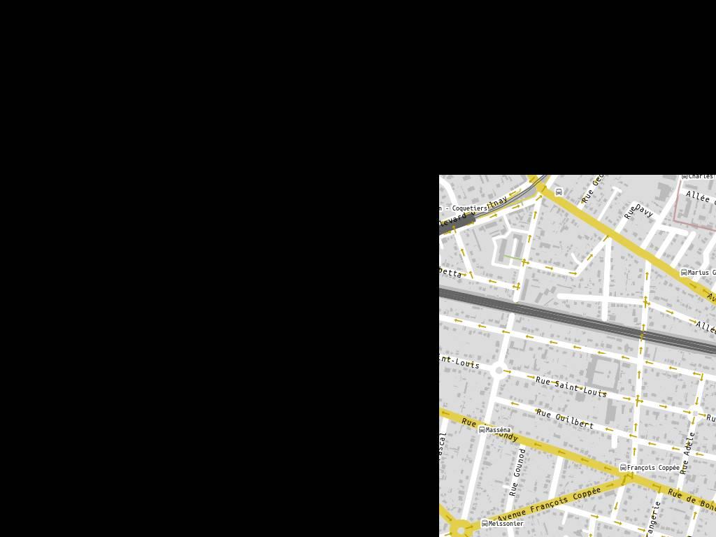 Tram t4 villemomble - H m avenue de france ...